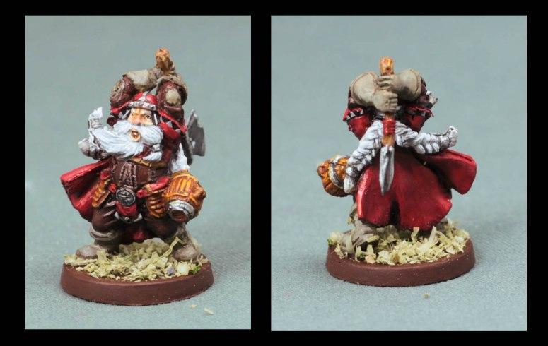 Grisban the Thirsty - Dwarf warrior