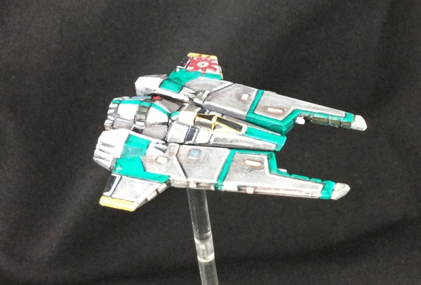 Protectorate star fighter